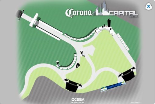 Corona Capital 16 de RockTubre de 2010