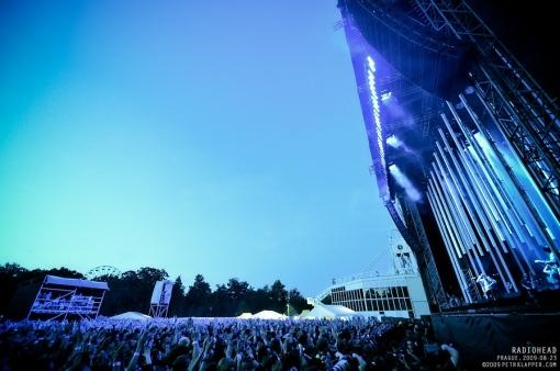 Radiohead, 23/08/2009, Praga